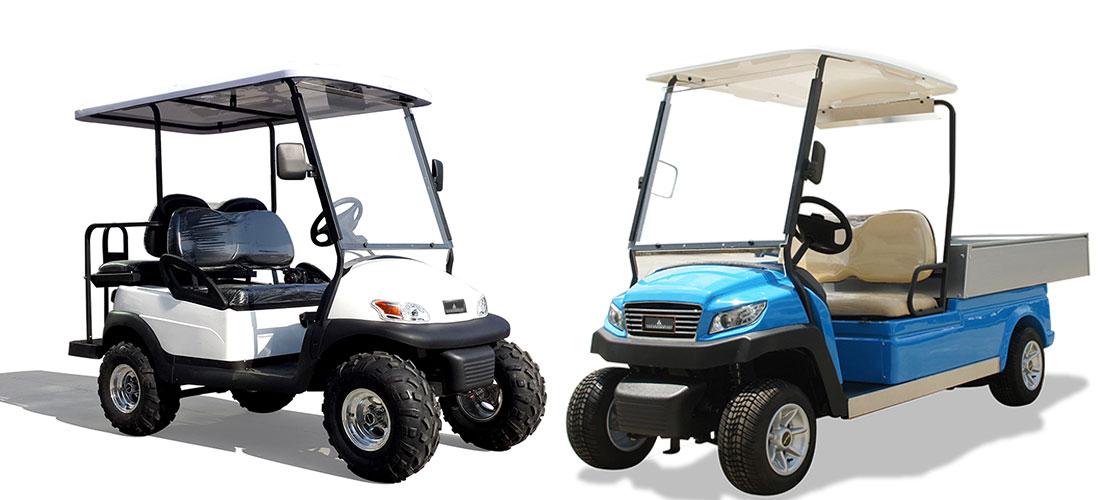 WSM GolfCarts bei WSM Maschinen