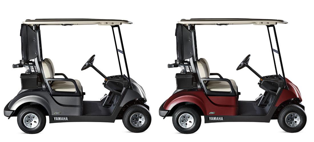 Yamaha Golfcarts bei WSM